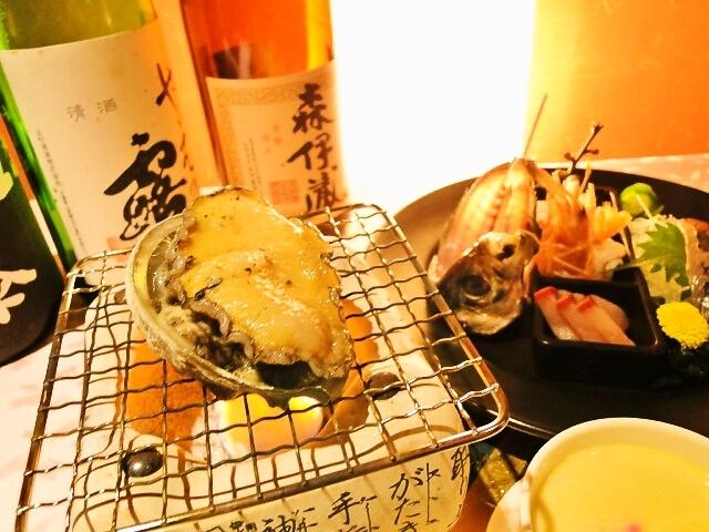 【活きあわびの踊り焼き付き】瀬戸内海のさち御膳<ネット限定特別プラン>