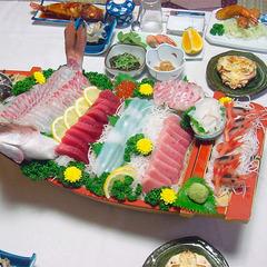 戸田港直送の鮮魚づくし!豪華舟盛り付きプラン/2食付 [現金特価]