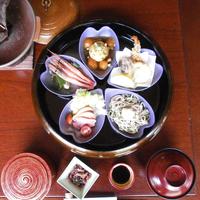 【お盆限定】白山里でのんびり過ごす夏休み♪2食付(花びら五色膳)
