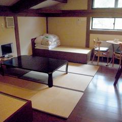 古民家風客室 (ベッド&2段ベッド)or(畳&2段ベッド)