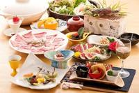 馬しゃぶ懐石!【地元名物グルメ堪能】熊本でしか味わえない新鮮馬肉堪能プラン