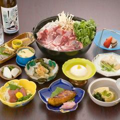 ◆【さき楽28・ペットと一緒に宿泊♪】静岡名産「猪鍋」と富士山麓名産「鹿刺し」をご堪能!【夕朝食付】