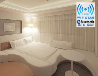 〔素泊まり〕5種類のデザイナーズルーム 各室1室限定