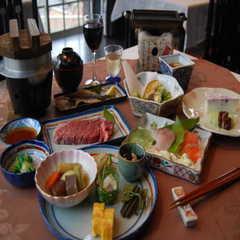 飛騨牛こんろ焼と京風おばんざいの当宿最上級プラン【2食付】