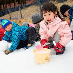 【お得に雪遊び♪お子様特典付き】11月14日OPEN!【六甲山スノーパーク入場券+スタンダード夕食】