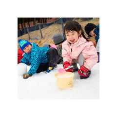 【☆家族みんなで雪遊び☆】六甲山スノーパーク入場券付♪夕食は『神戸ワインビーフ』が◎