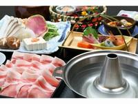 【料理長特選】 喜茂別産ハーブ豚「しゃぶしゃぶ食べ放題」プラン