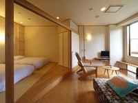 寝室4畳半+リビング6畳☆内風呂付き客室