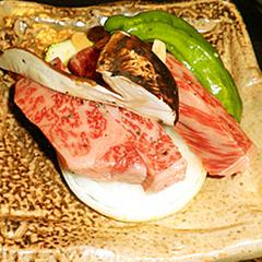 【近江牛ミニステーキ付】プチ贅沢★いつものプランに贅沢をプラス!近江牛のステーキを味わう《平日限定》