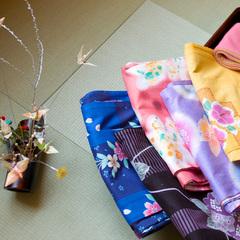 【1日5組カップル限定☆】色浴衣で芦原温泉を満喫♪[1泊2食付]