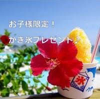 【Enjoy LOVE!Summerプラン特典】お子様限定かき氷プレゼント![朝食付]