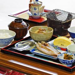 【朝食付】からだに優しい和定食で一日のスタート♪(平日限定)