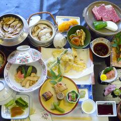 ≪松茸グレードアップ≫秋の味覚満喫◆メインは焼松茸&牛ステーキ◆   (平日お一人様でも大歓迎)
