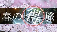 【3・4月限定】おひとり様 15,000円〜★春の得旅 家族or友人de春休みプラン