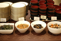 【和洋軽朝食ブッフェ】全25種類食べ放題☆ブライダルホテルの会場で優雅なひと時を