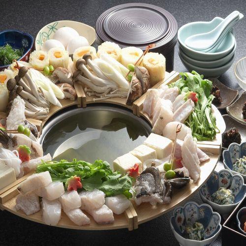 【冬春旅セール】【秋・冬季限定】幻の高級魚クエを食す!大阪のほっこり宿で「クエ鍋プラン」!