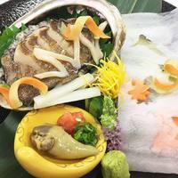【別注料理☆あわびのお刺身付き】スタンダード1泊2食