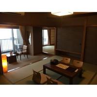 【オーシャンビュー】和室10+6畳(禁煙)