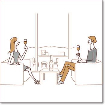 (NEW)山梨県産ワインを飲もう♪プラン【赤・1本付】