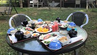 【バーベキュープラン♪♪】☆☆朝食付きプラン☆☆器材レンタル♪(2200円〜)調理器具貸し出し無料