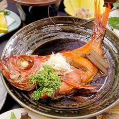 【グループ歓迎】4名様以上〜★金目づくし!金目鯛の煮付け&しゃぶしゃぶを食す[1泊2食付]