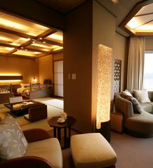 7階【角閃石と檜の内風呂付】和洋スイート