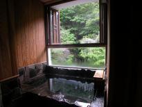 <禁煙室>本館和室 半露天風呂付客室(源泉給湯)