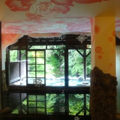 リーズナブルに温泉満喫四万専科(親父ギャグですいません)素泊まり(食事なし)貸切露天無料・禁煙室