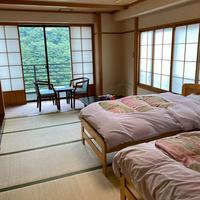 本館 ■和室10畳ツインベットルーム(禁煙)■