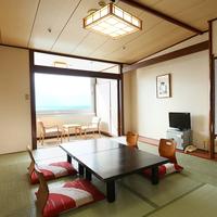 【禁煙】海の見える和室10畳(バス付)