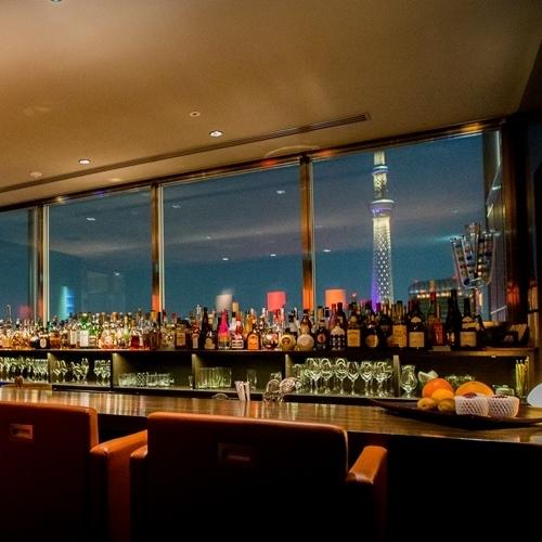 【記念日に】14階「B bar」ドリンク付!スパークリングワインで乾杯♪朝食付 2名利用