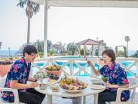 【気分爽快!】太平洋を眺める果樹園名物☆海鮮BBQ☆もちろん藁焼きカツオのたたき付!【早割60】