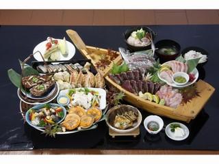 土佐の郷土料理スタンダードプラン(新鮮素材の会席風皿鉢料理)【早割30】(1泊2食付)