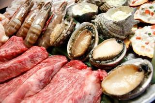 【気分爽快!】太平洋を眺める果樹園名物☆海鮮BBQ☆もちろん藁焼きカツオのたたき付!