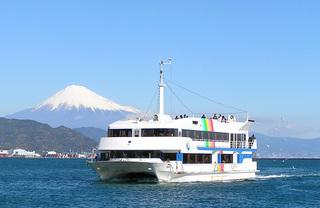 △▲ベイプロムナード号で行く!清水港内クルーズプラン▲△富士山を海から眺める贅沢
