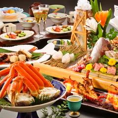 【人気No1】金目鯛の姿煮&鮑の踊焼き&伊勢海老のお造り付!贅沢したい方に海鮮膳!