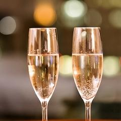 【記念日】大切な人と過ごすひととき♪ケーキ&スパークリングワインで乾杯♪
