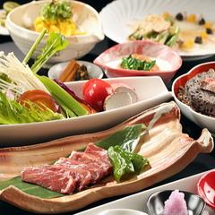 【格安一番人気】みずみずしい有機野菜メインの和風創作料理&無料貸切風呂