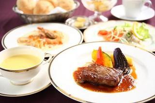 【二食付】和牛サーロインステーキ洋食フルコースプラン