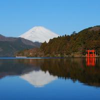 【初詣にもオススメ】箱根で新春を寿ぐ〜箱根神社や芦ノ湖など名所を巡れる箱根フリーパス付〜