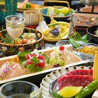 【グレードUP会席◇竹コース】『牛ステーキ♪』『新鮮鮮魚♪』ちょっぴり贅沢したい方におススメ!