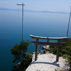 【竹生島クルーズ 】宿から竹生島まで往復送迎可◎神秘に包まれたパワースポットを巡る
