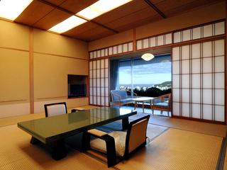 露天付きツインベッド(室内風呂あり)+和室15畳(コネクト)