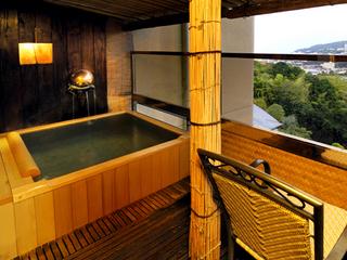 源泉掛け流し露天風呂付き客室(12.5畳)