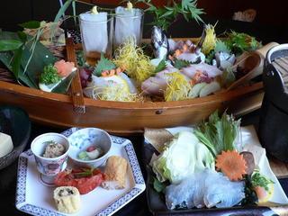 【山陰大周遊★】鳥取の味を存分に堪能できる≪日本海の幸満載舟盛≫&嬉しい無料貸切風呂付き