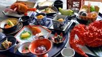 【月膳】調理長快心の特別膳☆根室の海鮮満喫プラン