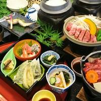 料理UP!神奈川ブランド足柄牛を陶板焼&すき焼きで♪