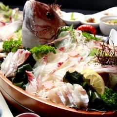 【伊勢海老&アワビ】日間賀島に来たなら贅沢に◇豪華食材と新鮮舟盛りで大満足♪