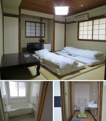 和室8畳【喫煙】バス・洗浄便座付トイレ