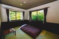 一人旅プラン (和室、シャワー、トイレ付き)・赤川荘無料入浴券付